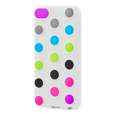 INCIPIO DOTTIES IPHONE 4/4S CUSTOMIZABLE CASE (WHITE)