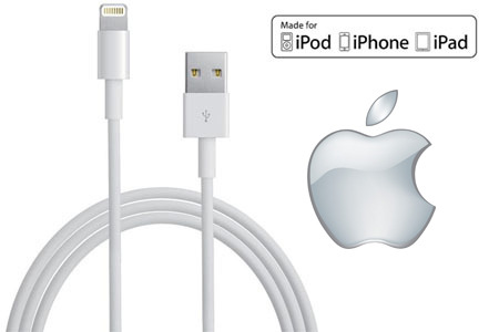USB to 8-Pin 3ft charging cable for your iPhone or iPad. Functions with any USB port or wall charger. Also used to connect to your computer to transfer data like music and pictures.