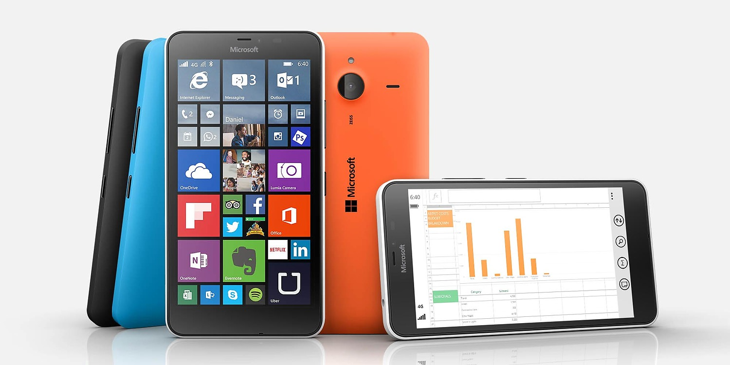 Lumia 640 Wallets