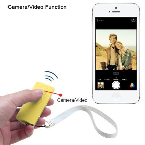 yellow selfie stick for ios android. Black Bedroom Furniture Sets. Home Design Ideas