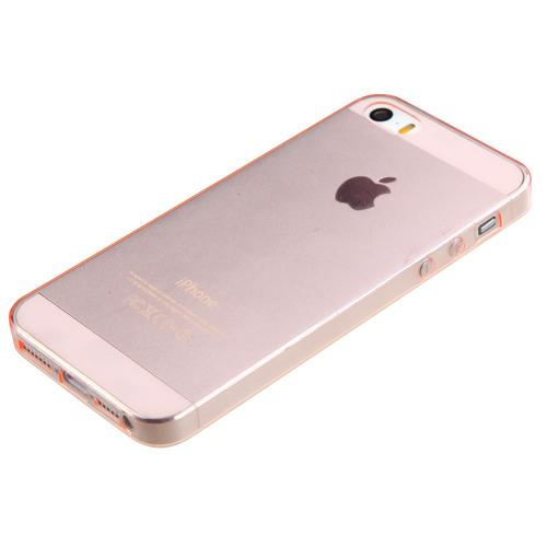 apple iphone 5 5s glossy transparent rose gold candy skin. Black Bedroom Furniture Sets. Home Design Ideas