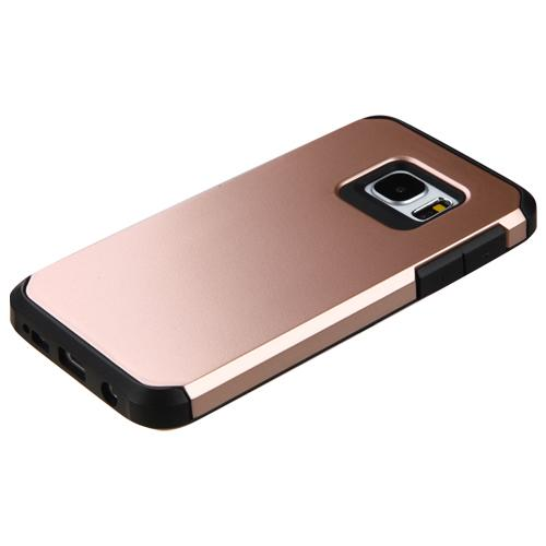 samsung galaxy s7 rose gold black astronoot case. Black Bedroom Furniture Sets. Home Design Ideas