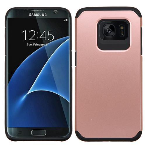 samsung galaxy s7 edge rose gold black astronoot case. Black Bedroom Furniture Sets. Home Design Ideas