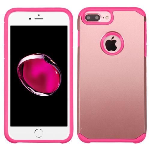apple iphone 7 plus rose gold hot pink astronoot case. Black Bedroom Furniture Sets. Home Design Ideas