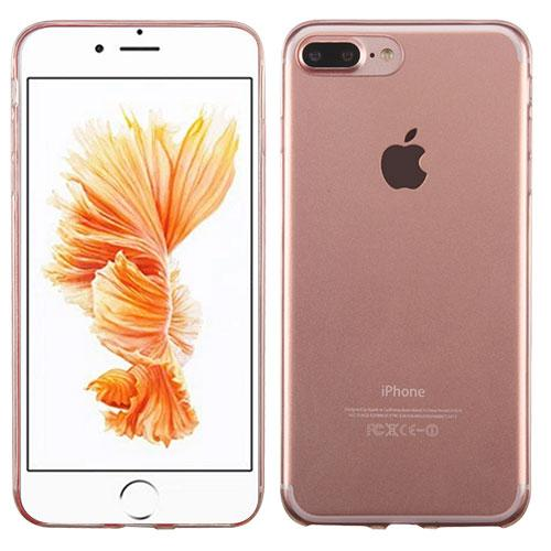Apple Iphone 7 Plus Glossy Transparent Rose Gold Candy Skin Cover