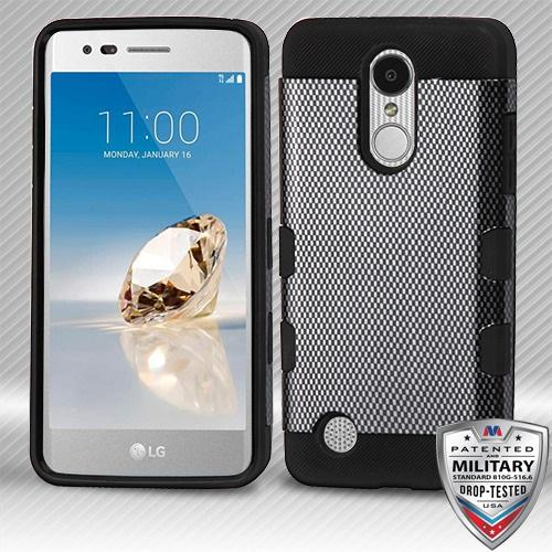 Carbon Fiber/Black Hybrid Protector Cover [Military-Grade Certified]