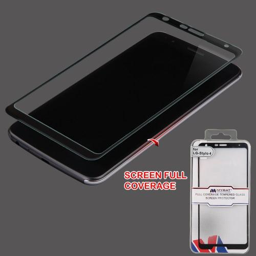 Full Coverage Tempered Glass Screen Protector/Black
