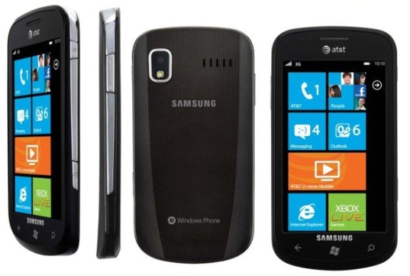 Samsung Focus Windows Phone 7 Zune WiFi PDA Phone ATT